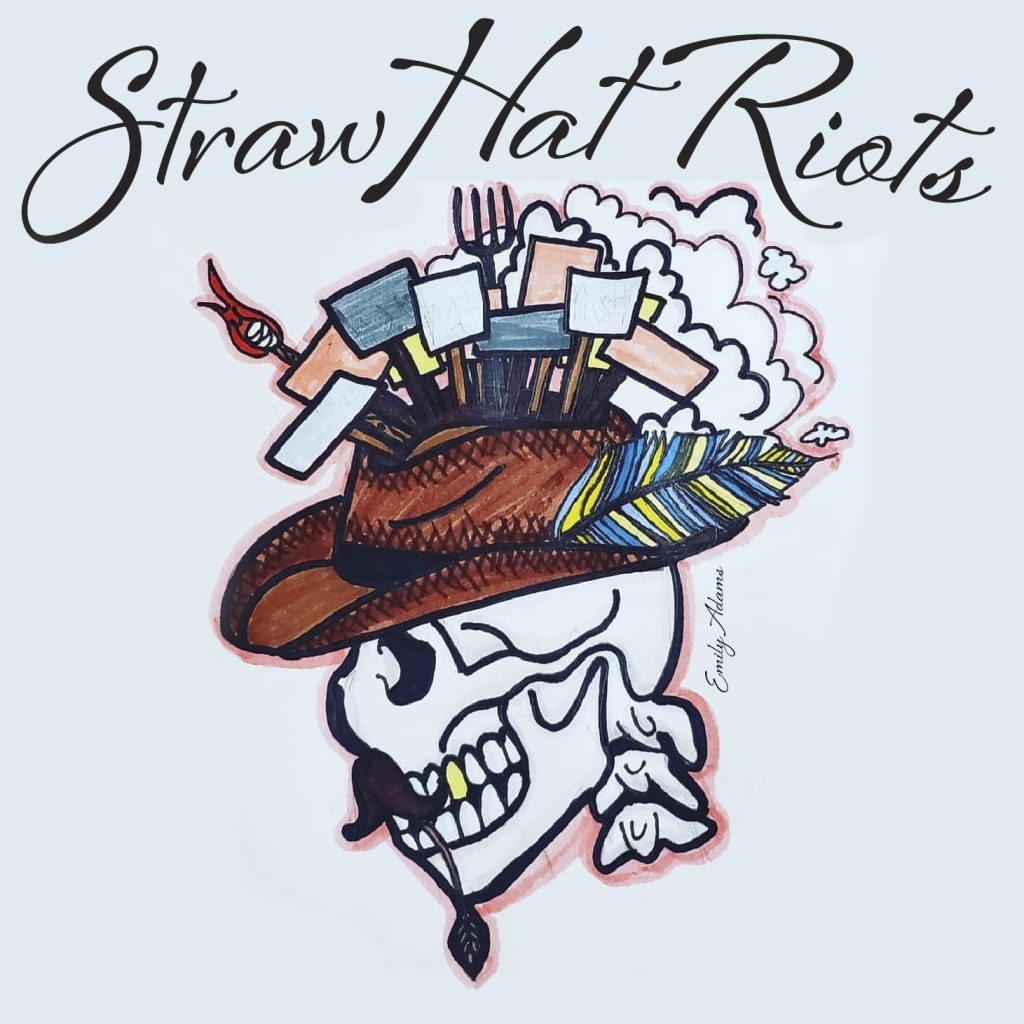 album cover Straw Hat Riots EP